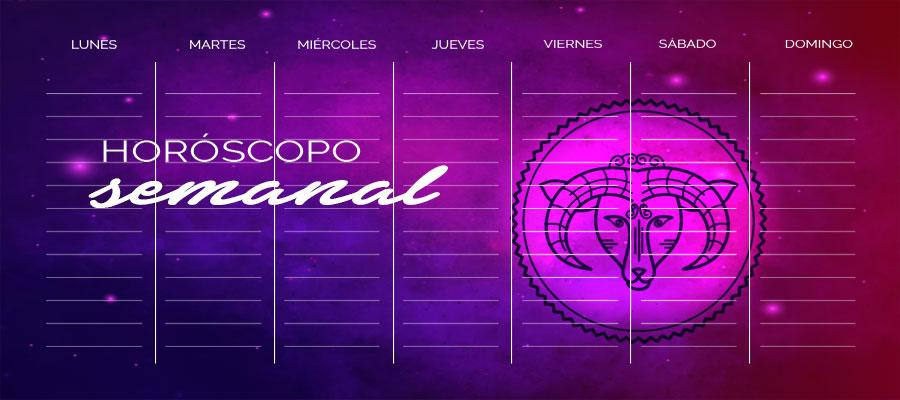 Horóscopo Aries Semanal – Horóscopo de la semana Aries